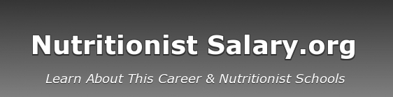 Nutritionist Salary Logo